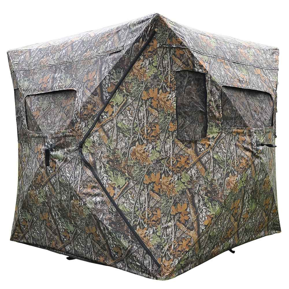 ground guide hunting walmart x fascinating blind polyester gear using blinds at up outhouse reviews pop