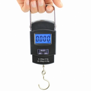 Portable Digital Hanging Gram Scale 50kg x 0.01kg
