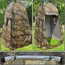 Portable Privacy Shower Toilet Camping Pop Up Tent Camouflage