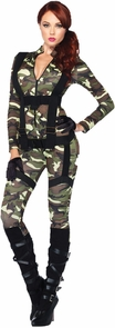 Pretty Paratrooper Adult Md Costume