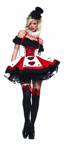 Pretty Playing Card Md/lg Costume