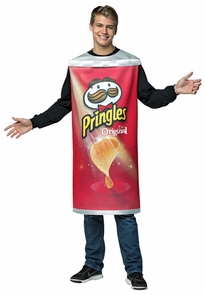 Pringles Can Adult Costume
