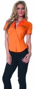 Prisoner Fitted Shirt Adult Xx Costume