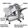 Professional Electric Slicer Kitchen Butcher Equipment