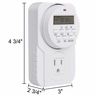 Programmable Indoor Digital Timer Switch UL Listed