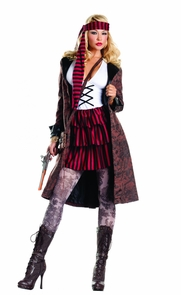 Provocative Pirate Med Large Costume
