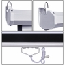 "Pull Down Projector Screen Wall Celling Mounted 119"" 1:1"