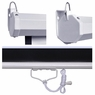 "Pull Down Projector Screen Wall Celling Mounted 92"" 16:9"