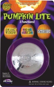 Pumpkin Light 3 Mode Costume