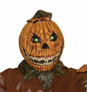 Pumpkin Rot Latex Mask Costume