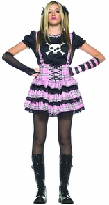 Teen Punk Rock Princess Costume