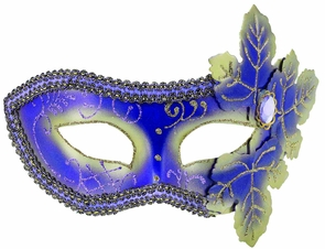 Women's Purple Venetian Mask Costume