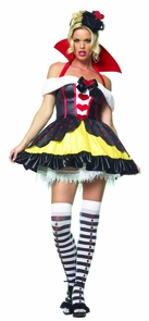 Queen Of Hearts 3pc Large Costume