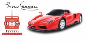 RC Ferrari Enzo W/Working Lights & Extras *Super Hot*