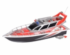 Electric RC Police Fire Rescue Boat Remote Control W/Fly Bridge
