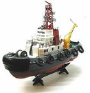 RC (Remote Control) Tugboat Atlantic Harbor W/Working Crane, Lights, & Water Hose *HOT*