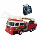 RC Toy Remote Control Fire Truck W/Remote Control & Lights