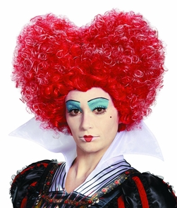 Red Queen Wig Adult Costume