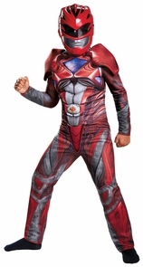 Red Ranger 2017 Muscle Ch 7-8 Costume