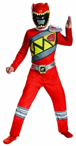 Boy's Red Ranger Classic Costume - Dino Charge Costume