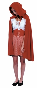 Red Riding Hood Cape Costume