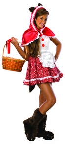 Red Riding Hood Tween Small Costume
