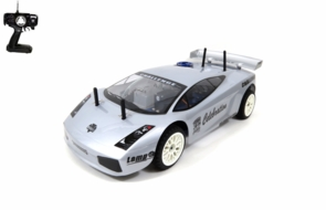 Remote Control 2 Speed Upgraded Nitro Gas Lamborghini Gallardo RC Car