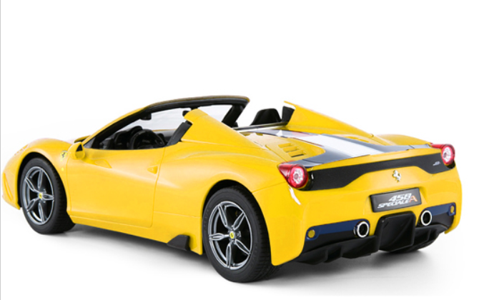 Merveilleux Remote Control Ferrari 458 Spider RC Car Convertible W/Motorized Opening  Roof