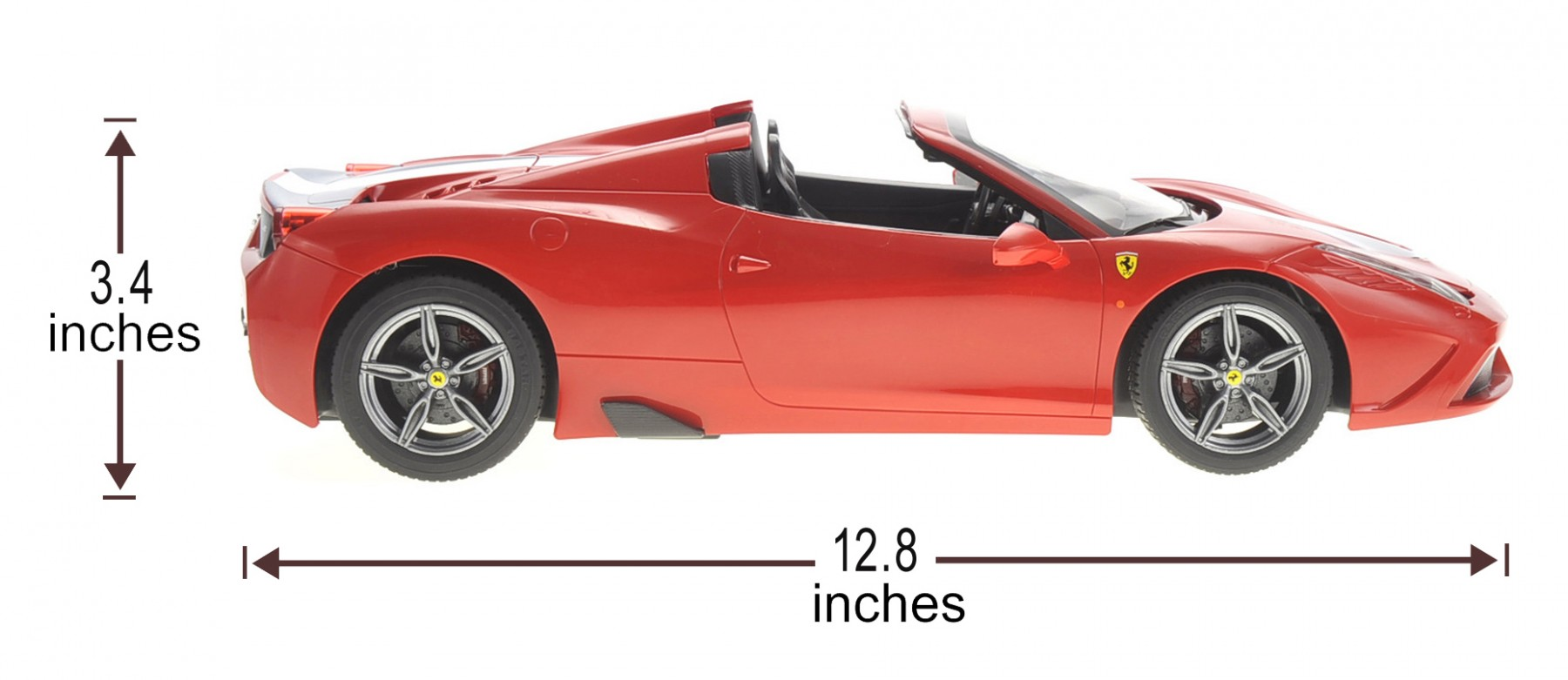 Genial Remote Control Ferrari 458 Spider RC Car Convertible W/Motorized Opening  Roof