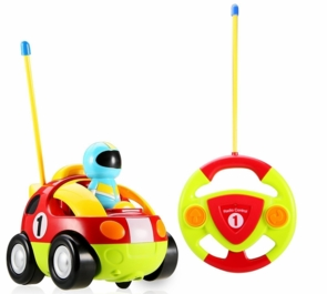 Remote Control Race Car W/Racer Easy To Drive For All Ages