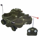 Remote Control (RC) Amphibious ATV W/Cup Holders Works On Land, Water, Snow, And Ice