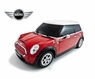 Remote Control (RC) Mini Cooper S Car W/Working Lights Red Yellow Blue