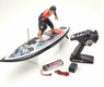 Remote Control (RC) Surfer W/Surfboard Boat Surfs Waves Up To 3 Feet High