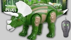Electric Remote Control (RC) Triceratops Toy Dinosaur
