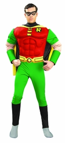 Robin Adult Muscle Small Costume
