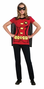 Robin Sexy Shirt Large Costume