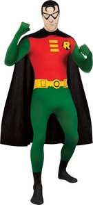 Robin Skin Suit Adult Lg Costume