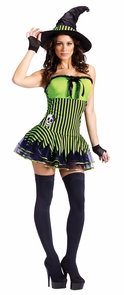 Rockin Witch Adult Sm-med Costume