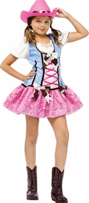 Rodeo Sweetie W Hat 4-6 Costume