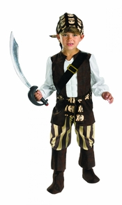 Rogue Pirate Toddler 2t Costume