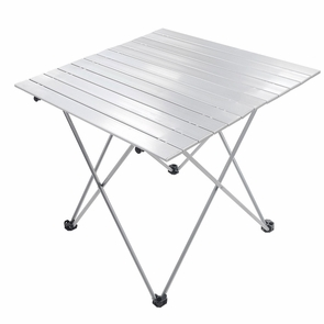 roll up compact table folding camping picnic desk. Black Bedroom Furniture Sets. Home Design Ideas
