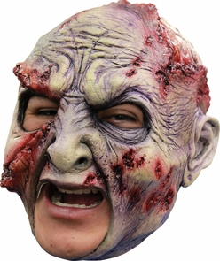 Rotted Chinless Latex Mask Costume