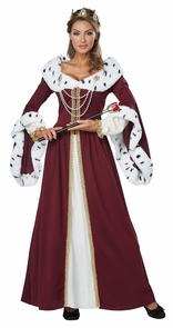 Royal Storybook Queen Xlg Costume