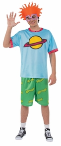 Rugrats Chuckie Top Adult Lg Costume