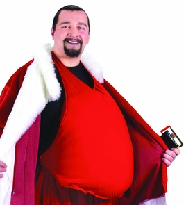 Santa Belly Costume