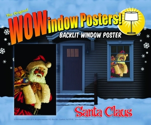 Santa Claus Window Costume