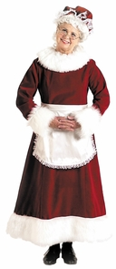 Santa Dress Long 9 To 11 Costume