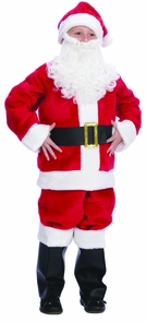 Santa Suit Child Sz 10-12 Costume