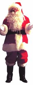 Santa Suit Deluxe Xl Costume