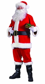Men's Plus Size Santa Suit Economy Costume